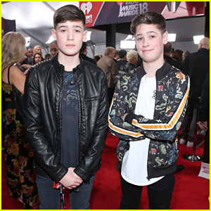 Twin Social Stars Max & Harvey Had So Much Fun at iHeartRadio Music Awards 2018 Even Though They Didn't Win