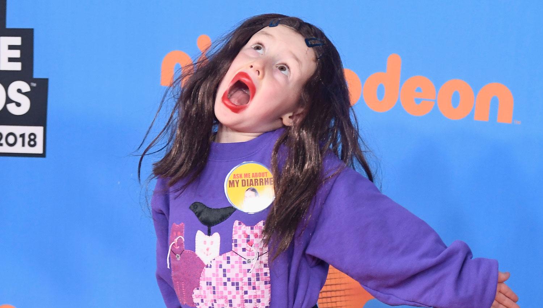 Colleen Ballingers Nephew Dresses as Miranda Sings at