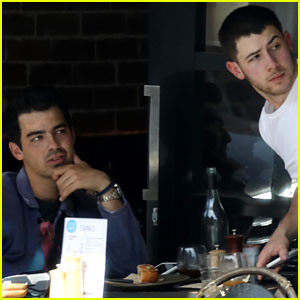 Nick Jonas Chats With Brother Joe Following His Kiss With Annalisa Azaredo