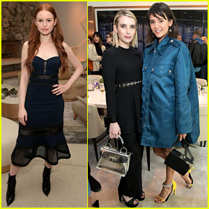 Nina Dobrev, Emma Roberts, & Madelaine Petsch Look Stunning While Celebrating Proenza Schouler's First Fragrance