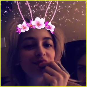 Paris Jackson & Cara Delevingne Have a Fun Sleepover!