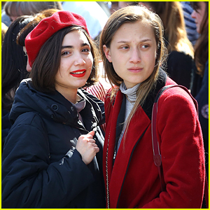 Rowan Blanchard Shares Inspiring Quote After March For Our Lives in Washington, D.C.