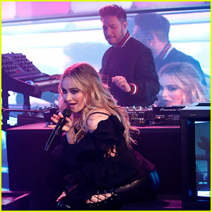 Sabrina Carpenter & Jonas Blue Perform 'Alien' on 'Jimmy Kimmel Live!' (Video)