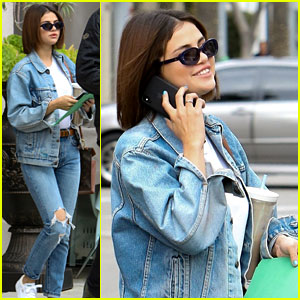 Selena Gomez is All Smiles While Out in Beverly Hills!