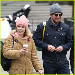 Emily Bett Rickards Joins Stephen Amell's Family at March For Our Lives!