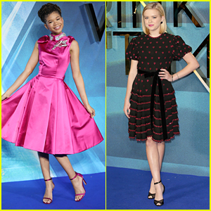 Ava Phillippe Joins Storm Reid at 'A Wrinkle in Time' London Premiere