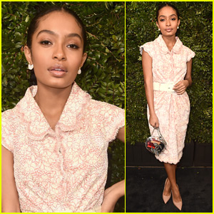 Yara Shahidi Goes Glam for Oscars Pre-Party!