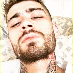 Zayn Malik Displays New Tattoos On Instagram