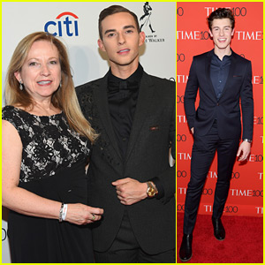 Adam Rippon Brings & Thanks 'Inspiring' Mom Kelly to Time 100 Gala