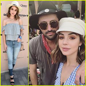 Adelaide Kane Keeps It Super Cute in Hats During Coachella Weekend #1