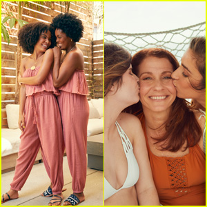 Yara Shahidi & Aly Raisman Pose in an Aerie Campaign With Their Moms!