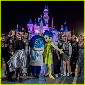 American idols top 10 meet inside out characters at disneylands american idols top 10 meet inside out characters at disneylands pixar fest m4hsunfo