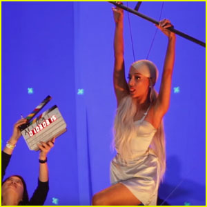 Ariana Grande Shows How She Filmed Her 'No Tears Left to Cry' Vid - Watch Now!