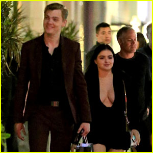 Ariel Winter Shows Some Skin for Romantic Dinner With Levi Meaden