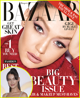 Bella Hadid Gushes Over Sister Gigi's New 'Harper's Bazaar' Cover