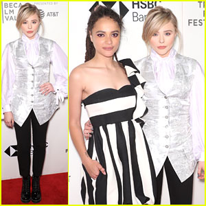 Chloe Moretz & Sasha Lane Bring 'Miseducation of Cameron Post' to Tribeca Film Festival 2018