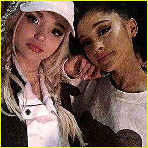Dove Cameron & Ariana Grande Snap an Epic Selfie Together