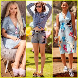 Dove Cameron, Rowan Blanchard, & Kiersey Clemons Flaunt Their Spring Festival Styles!