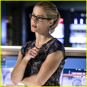 Emily Bett Rickards Reveals Felicity & Curtis' Tech Company on 'Arrow' Will Come Back This Season