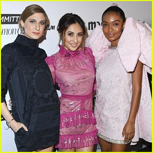 Francia Raisa & Emily Arlook Support Yara Shahidi at 'Marie Claire' Fresh Faces Celebration
