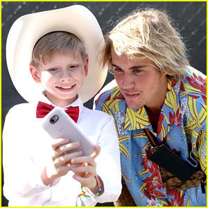 Justin Bieber Meets Walmart Yodel Kid & Then Sings His Song at Coachella (Video)