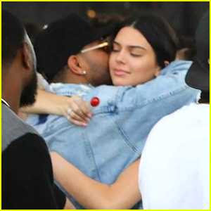 Kendall Jenner Spotted Hugging The Weeknd at Coachella