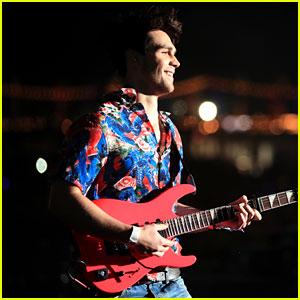 KJ Apa Slays on Stage With Kygo at Coachella 2018!