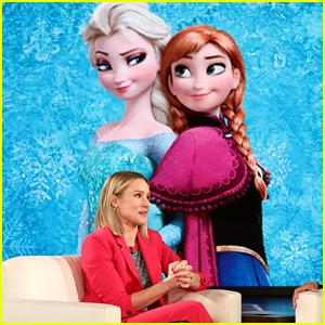Kristen Bell, aka Princess Anna, Totally Spilled New Details About 'Frozen 2'!