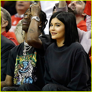 Kylie Jenner & Travis Scott Enjoy a Night Out in Houston