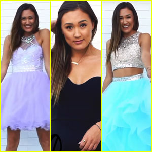 LaurDIY Tests Out Cheap Prom Dresses - Watch Now!
