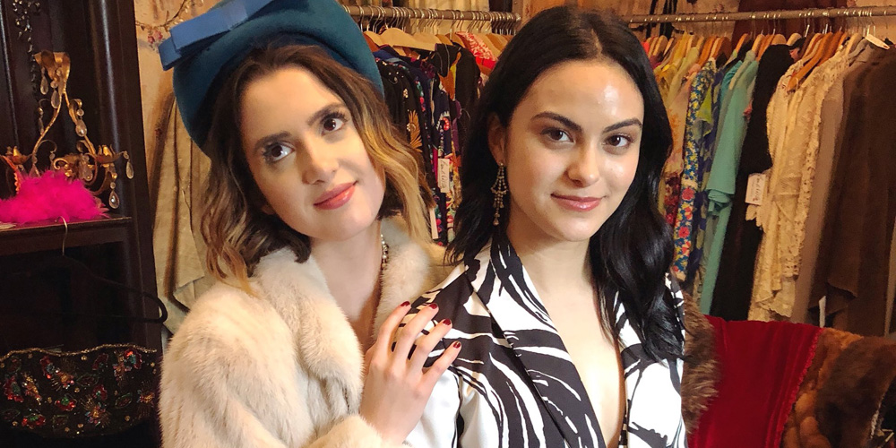 Laura Marano & Camila Mendes Wrap Filming on New Movie 'The