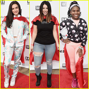 Lilimar, Jillian Rose Reed & Trinitee Stokes Are Superheroes For The Day!