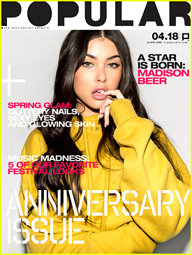 Madison Beer Covers Popular Mag's New Issue & Talks Musical Inspiration