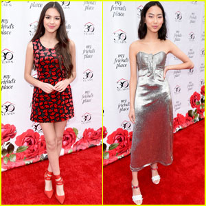 Olivia Rodrigo & Madison Hu Get Glam For My Friend's Place Charity Gala