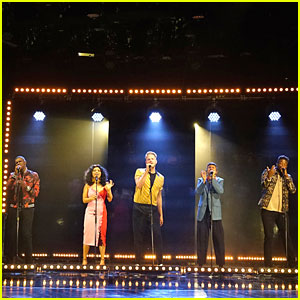 Pentatonix Perform 'New Rules x Are You That Somebody?' On 'The Late Late Show with James Corden' - Watch Now!