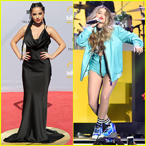 Becky G & Sofia Reyes Join Forces at Billboard Latin Music Awards 2018