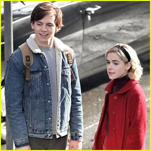 Ross Lynch Is 'Happy' That Kiernan Shipka Is Playing Sabrina in Netflix's New Series