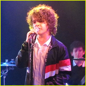 Stranger Things' Gaten Matarazzo Rocks Out With His Band Work in Progress!