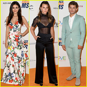 Victoria Justice, Aly Michalka, & Garrett Clayton Keep It Chic at Race to Erase MS Gala