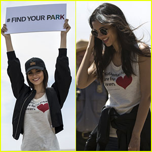 Victoria Justice Encourages You To Find Your Park In New National Park Week Campaign