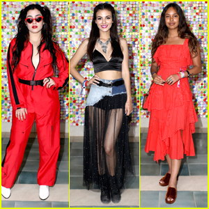 Victoria Justice Joins Lauren Jauregui, Alisha Boe & More at Revolve Festival Event