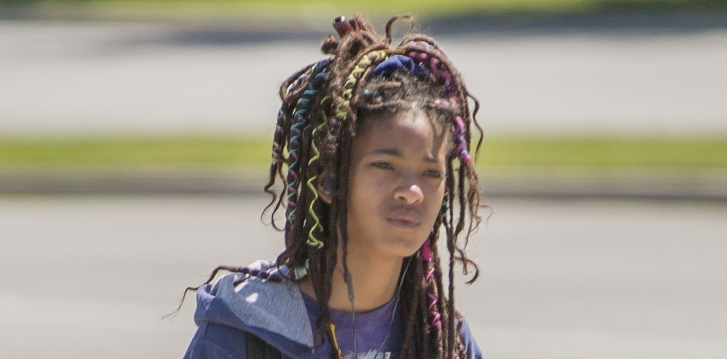 Willow Smith Adds Pops Of Color To Her Hair Willow Smith Just Jared Jr