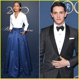 Yara Shahidi & Casey Cott Dress To The Nines For Brooks Brothers' Birthday Celebration