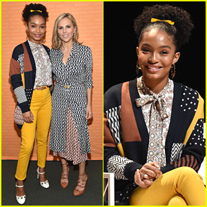 Yara Shahidi Talks 'Eighteen x 18' Voting Initiative at Embrace Ambition Summit 2018