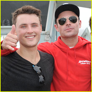 Dylan Efron Completes Boston Marathon While Brother Zac Cheers Him On