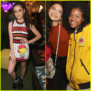 Jenna Ortega & Zendaya Attend City Year LA's Spring Break Event