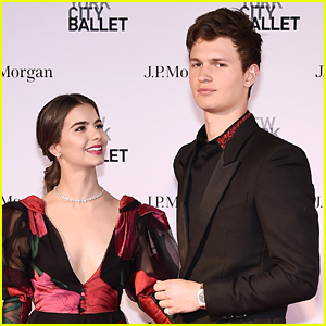 Ansel Elgort is Joined by Violetta Komyshan at NYC Ballet!
