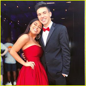 Baby Ariel & Daniel Skye Looked So Good at Prom!