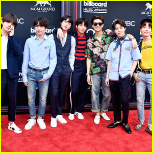 BTS Arrive in Style at the Billboard Music Awards 2018!