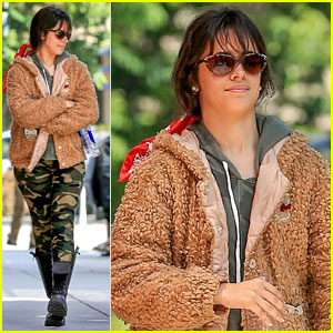 Camila Cabello Enjoys Some Fresh Air After Her Doctor's Appointment